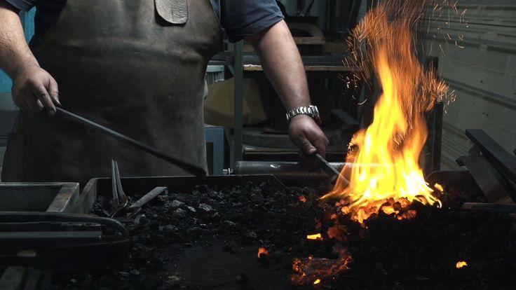 Franck Chartrain, créateur, maître ferronnier d'art