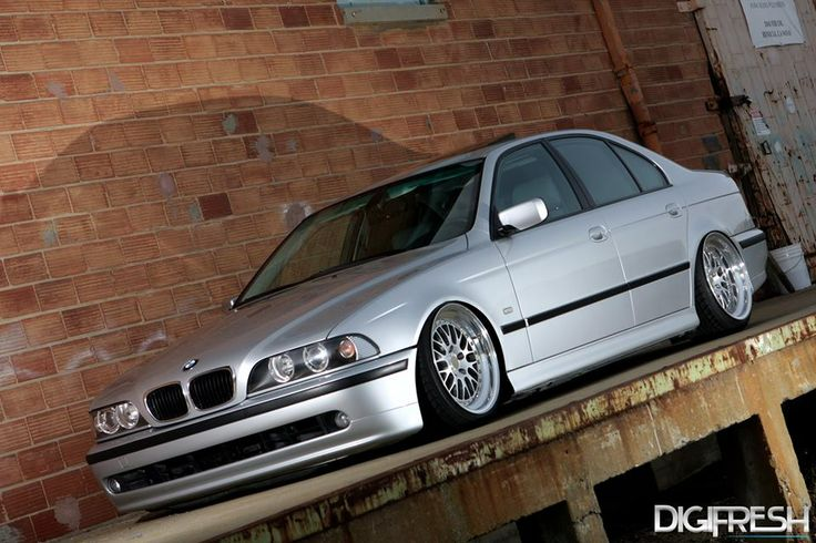 BMW E39 5 series slammed silver | BMW - Ultimate Driving ...