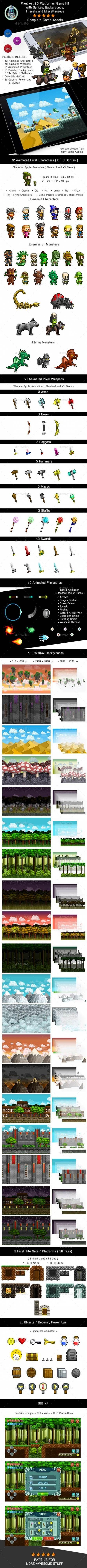 Platform games background character design 51 Ideas – Wrist Game