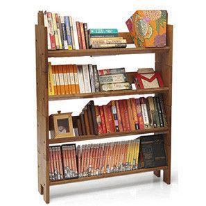 Dewey Bookbuilder - Set of Four (Teak Finish)