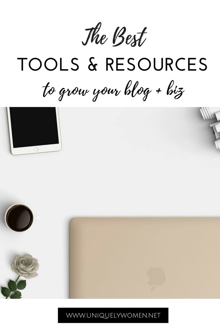 These blogging resources are all ones I use or have used in the past and would recommend! One way or another – this list of the best tools and resources to grow your blog will save you time (and we all know time as a business owner or blogger is crucial!)