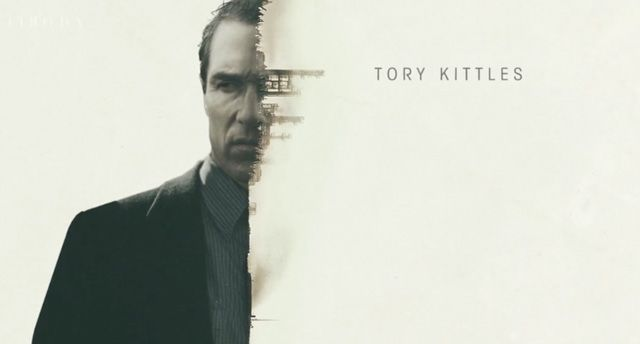 Love this double exposure from the titles for True Detective.
