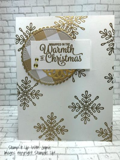 Stampin' Up! Snowflake Sentiments Part 2 – Stamp It Up with Jaimie