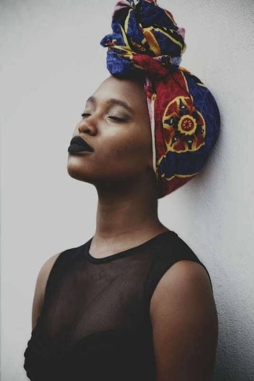 High Bun Head Wrap Hair Head Wraps African Head