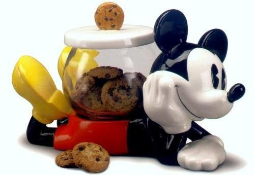 Mickey Mouse Cookie Jar made in China by Treasure Craft