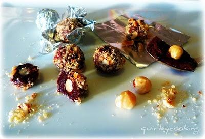 Homemade Ferrero Rochers (dairy free, gluten free, naturally sweetened)