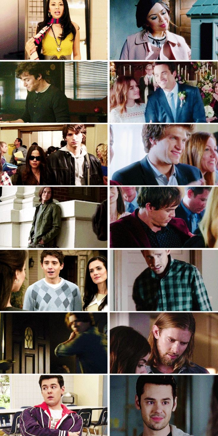 PLL cast - first and last episode