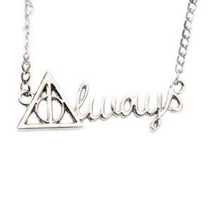 Colar Relíquias da Morte Always - Harry Potter