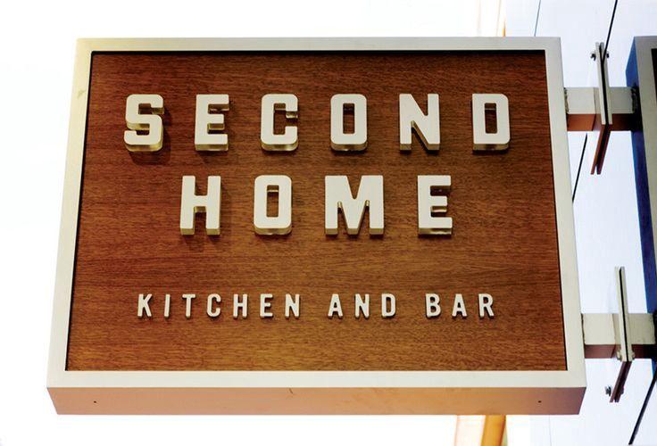 Second Home Signage Restaurant Signage Shop Signage Signage Design