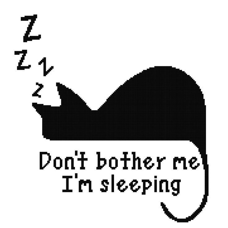 Sleeping cat 180x180