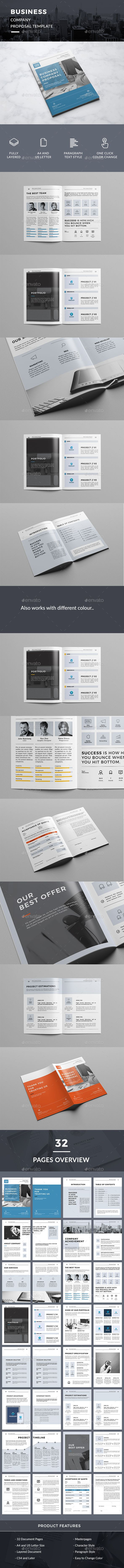 Business Company Proposal 56 best Annual Reports