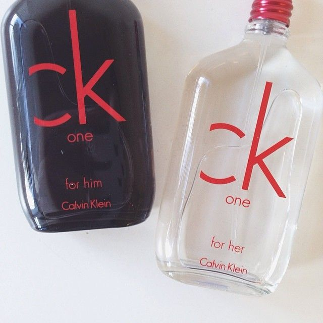 CK One Red Limited Edition for Him & Her