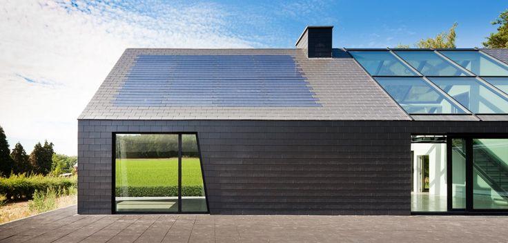Schaffen_BXL_Architecten_Sterrebeek Solesia zonnedak van Eternit