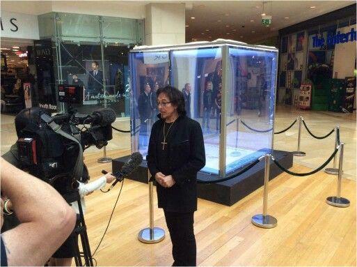 Interview at Bullring Birmingham.