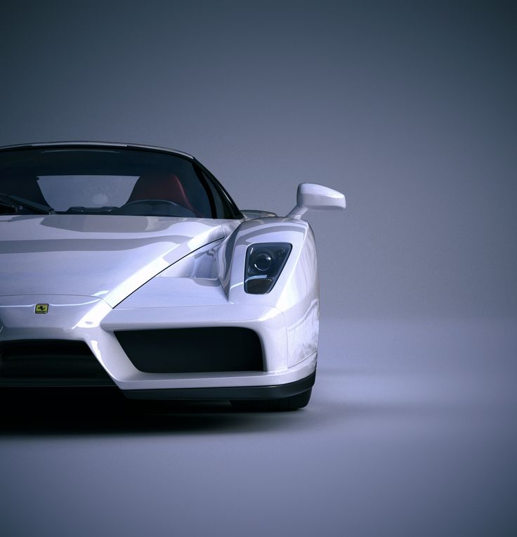 Ferrari / CGI render / 3d render / Fast Car / Sports Car