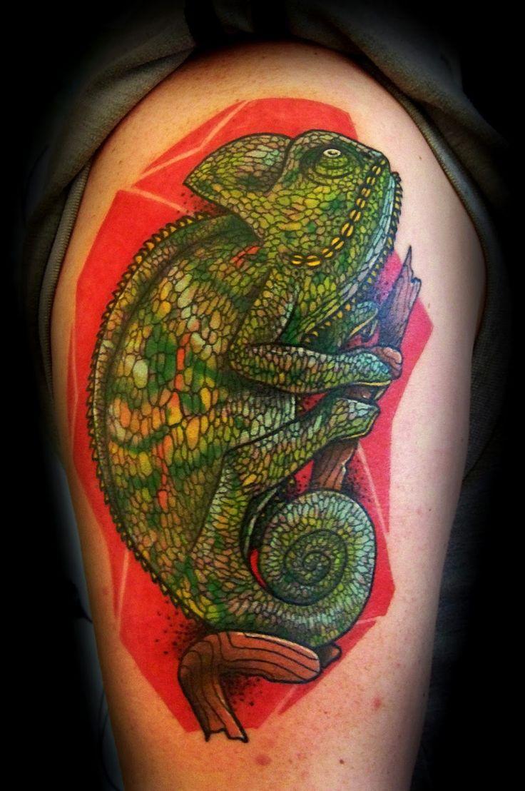 Chameleon Tattoos