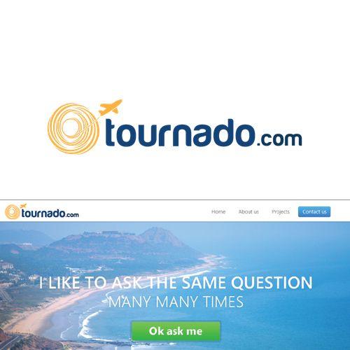 Designs | Design a brand for tournado.com | Logo design contest