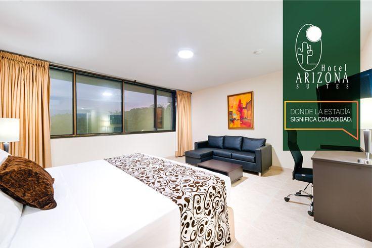 Vive una experiencia de privilegios en el Hotel Arizona Suites Cúcuta Habitación V.I.P para personas exigentes que buscan el verdadero confort en cada una de sus estadías. Reservas 57 7 5726020 #Cucuta #Colombia #ViajedeNegocios