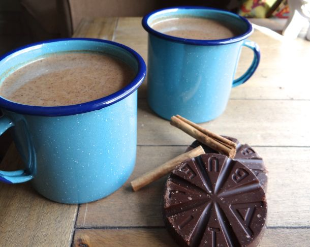 Champurrado- Mexican chocolate atole