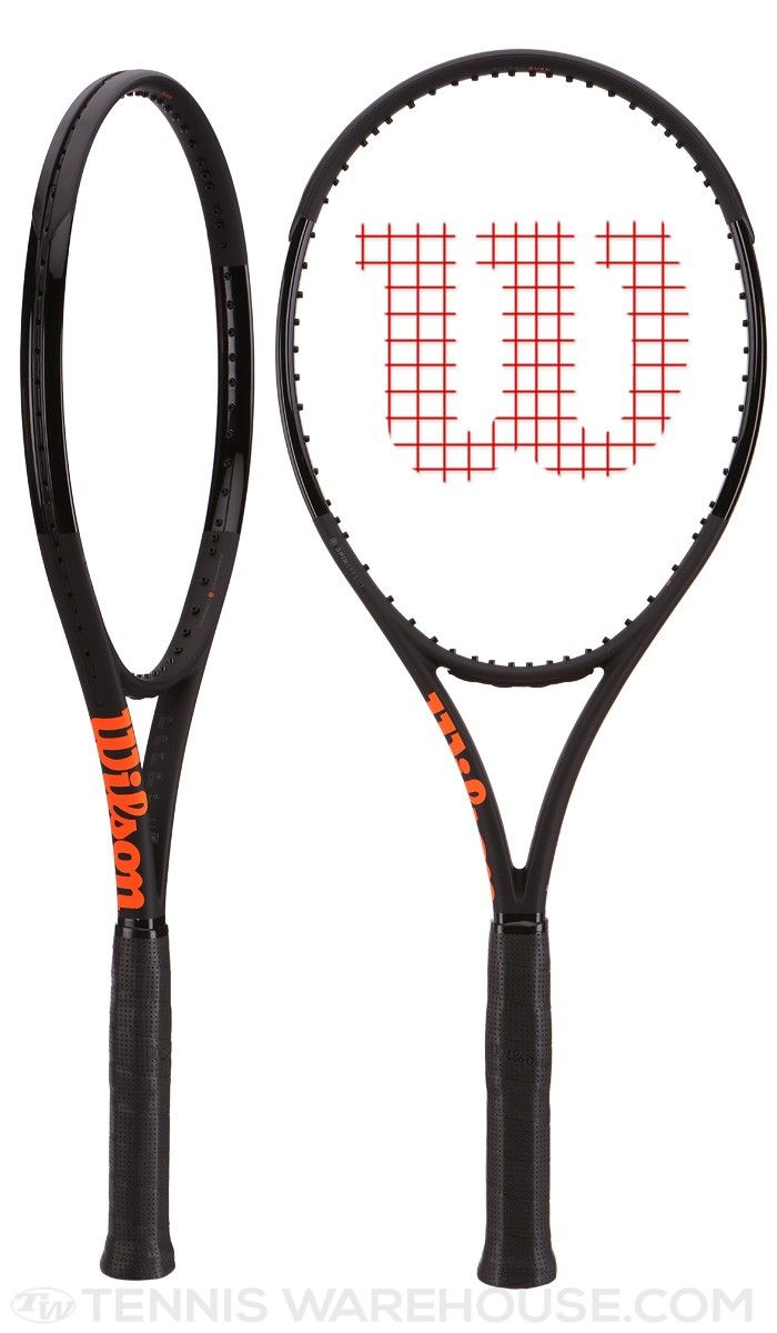 df842f5ff Wilson Burn 100S Countervail Black Racquet