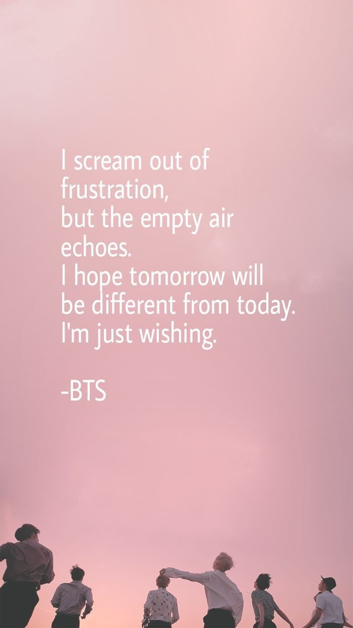 lyrics are also the reason to be an army 😘oppa bts