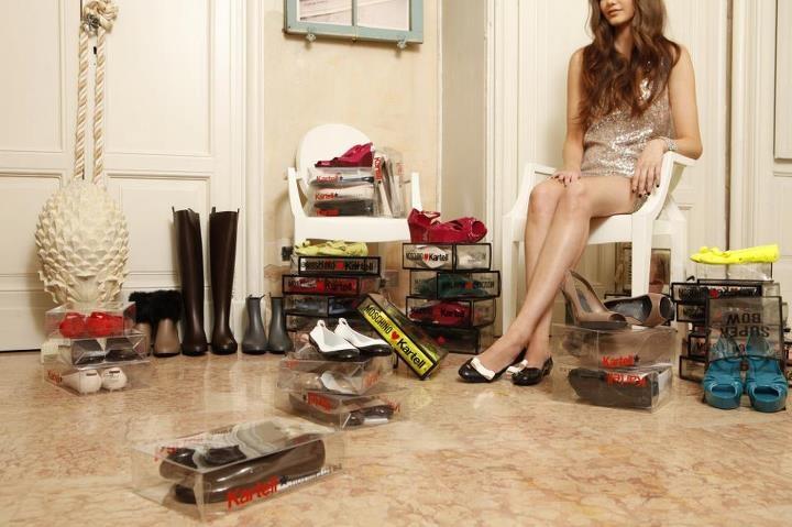 Kartell shoes collection - Kartell à la mode
