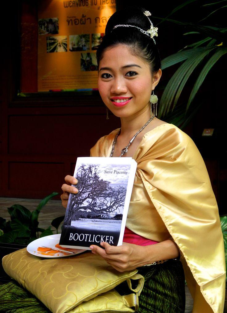 Bootlicker in the hands of a Thai Geisha