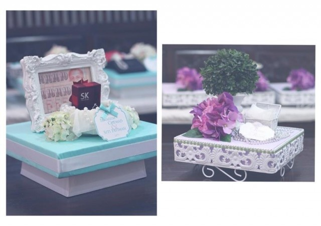 Turquoise - Wedding Tray