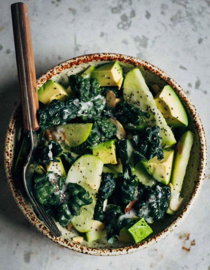 Kale and Granny Smith Apple Salad