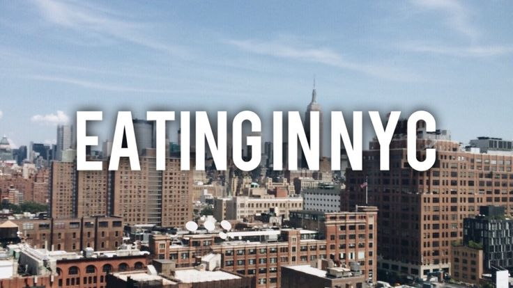Now on the blog : EATING IN NYC  Visit the post for more.