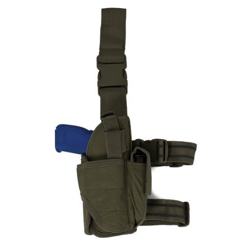 Red Rock Outdoor Gear Drop Leg Holster, Olive Drab Red Ro...