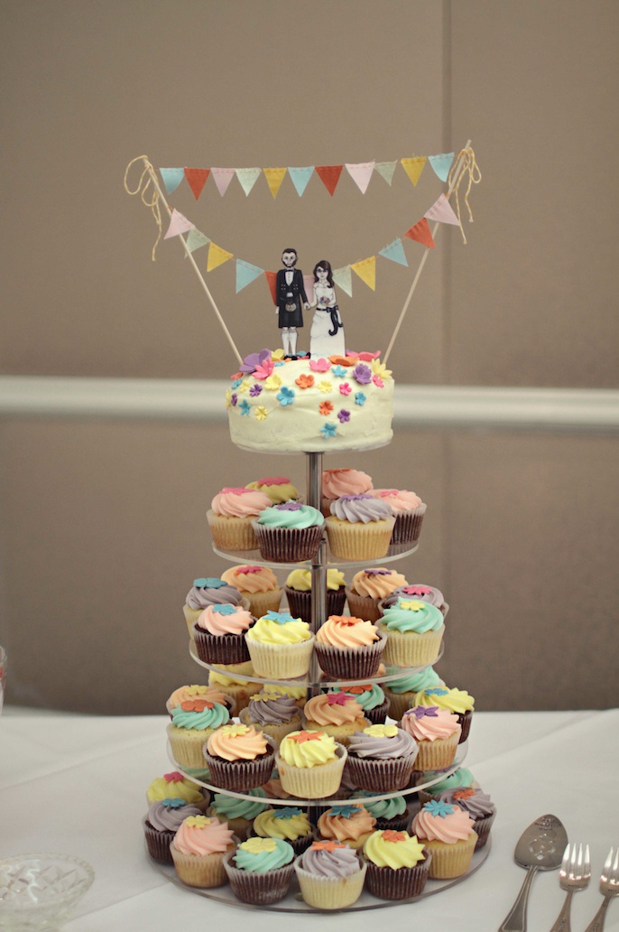 Mine and Colin's Wedding Cake  Photography by Shutter + Lace Photography