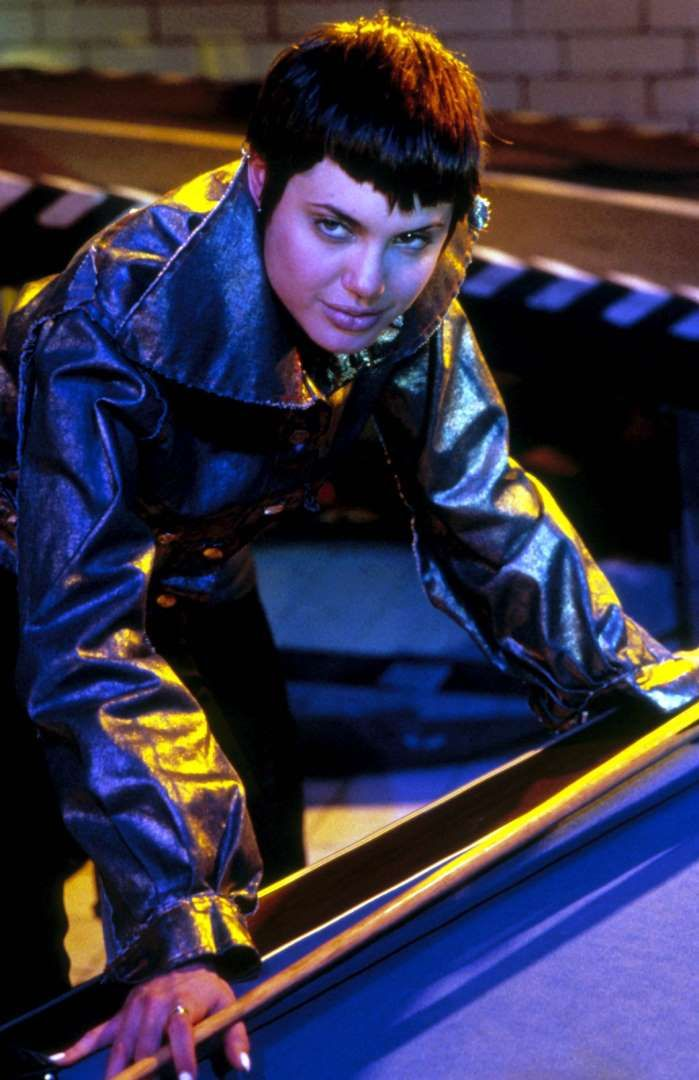 """Angelina Jolie Pitt's first big starring role came in 1995's """"Hackers."""""""