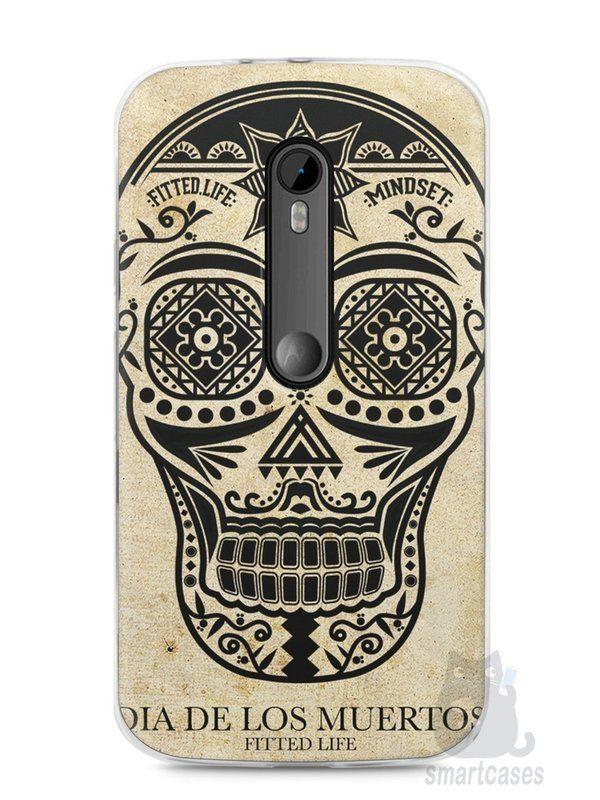 Capa Moto G3 Dia dos Mortos #2 - SmartCases - Acessórios para celulares e tablets :)