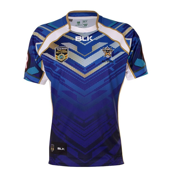 4 Year Old Rugby Boots: NRL ALL STARS 2015 BLK SHIRTS