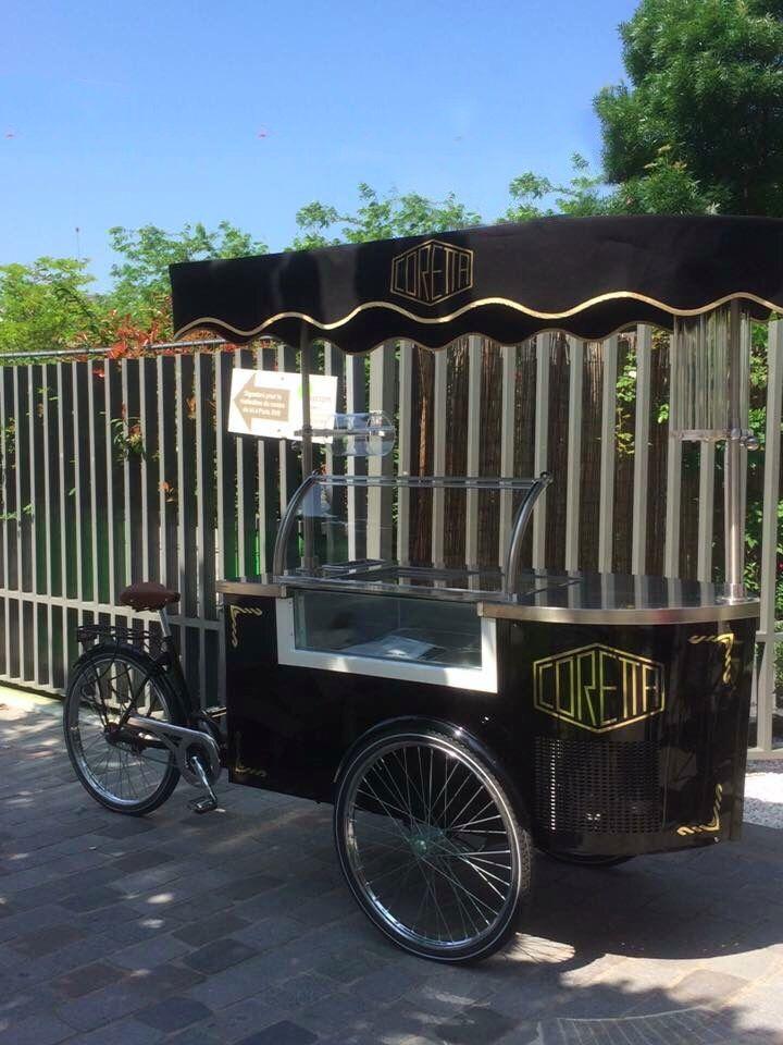 #icecreamcart #gelatocart #tekneitalia #foodmobile #foodbusiness