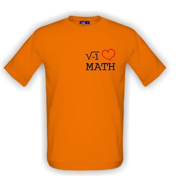 I LOVE MATH - tričko, které dokážou přečíst jen matematicky spřízněné duše :)