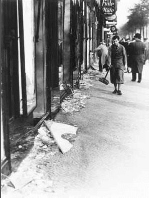 Kristallnacht - The Night of the Broken Glass