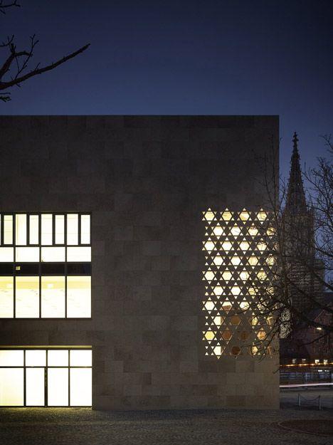 Ulm Synagogue by Kister Scheithauer Gross
