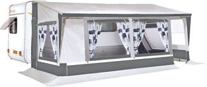 Caravan Porch Awnings - standard, lightweight and inflatable