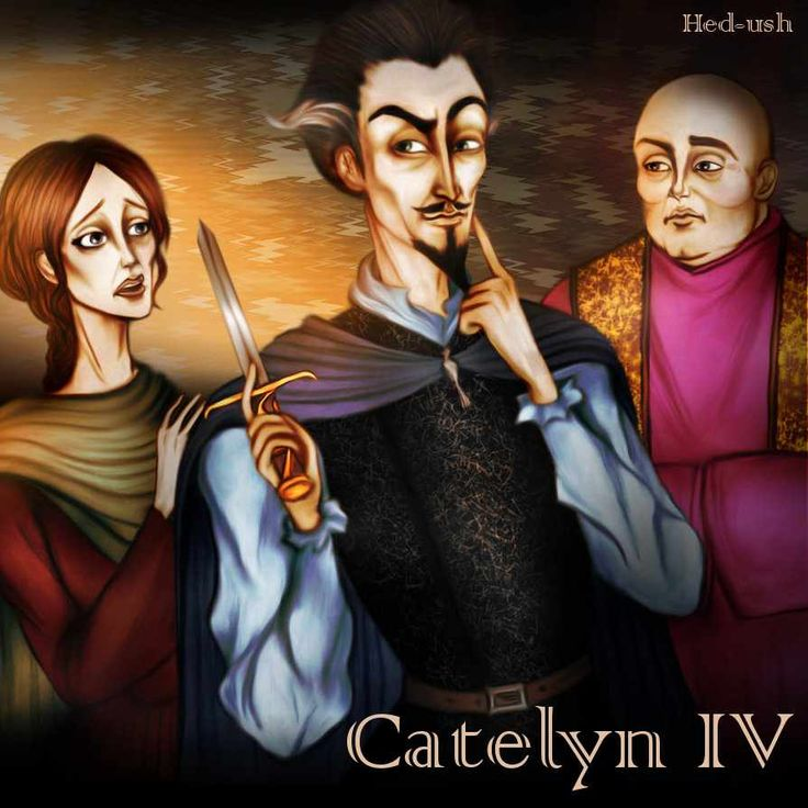 AGOT Catelyn IV banner - art by Hed-ush