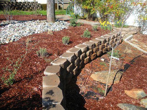 River Rock  Yard Ideas  Pinterest