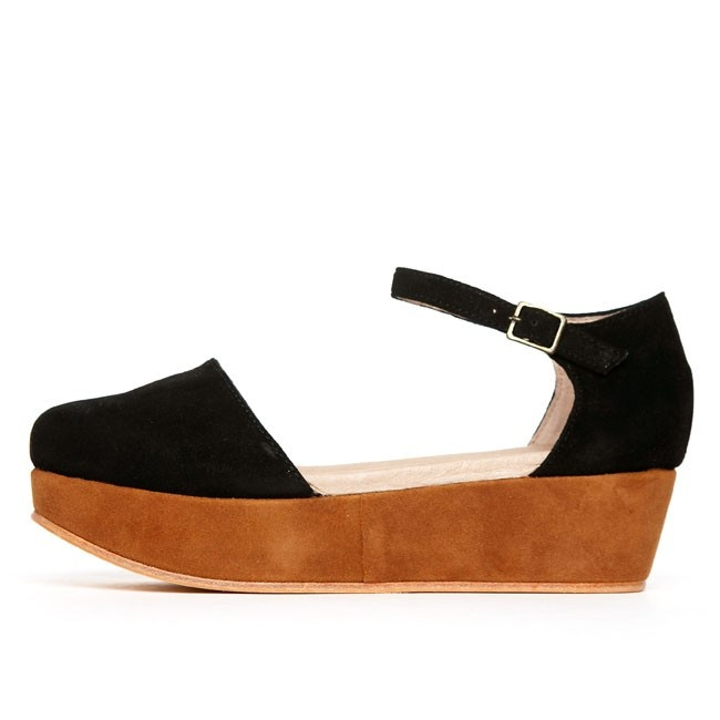 "Ashbury Skies: Gee'wawa ""daphne"" by Ashbury SkiesPlatform Sandals Black Rust, Gees Wawa Daphne, Daphne Platform, Platform Sandalblackrust, Sky Shoes, Pretty Things, Ashbury Sky, Geewawa Daphne, Black Suede"
