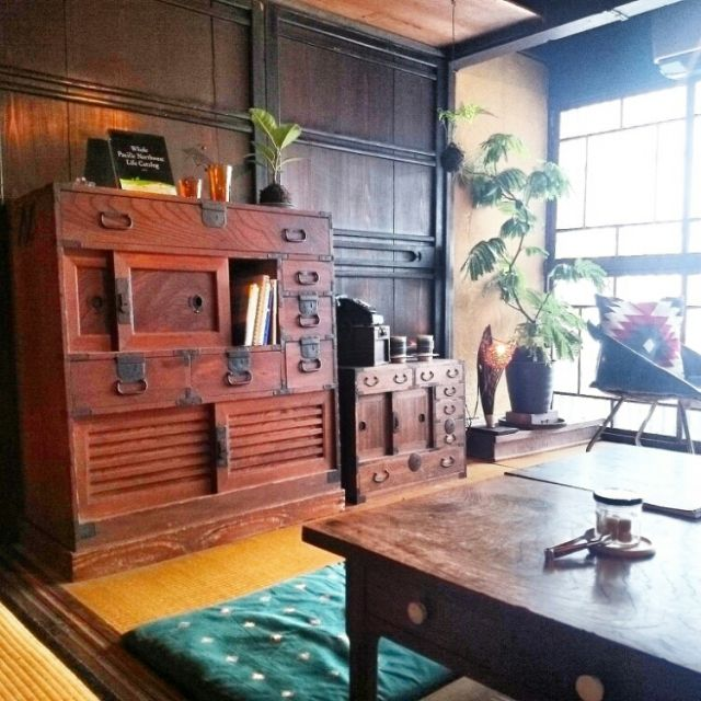cafe/苔玉/お返事遅くてごめんなさい(人д`)/お返事まだでごめんなさい!/古民家カフェ…などのインテリア実例 - 2015-07-16 14:25:00   RoomClip(ルームクリップ)