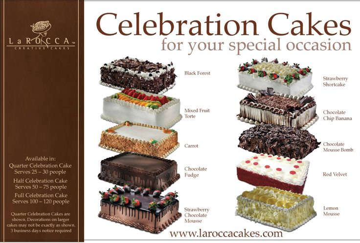 2ft x 2ft sign at grocery chain. Client - Larocca Cakes