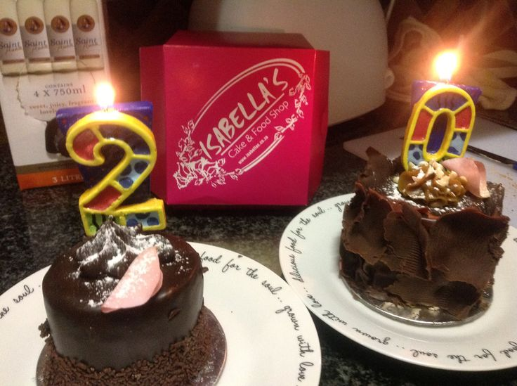 Birthday Cakes from Isabella's in Pretoria