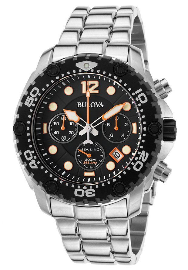 Bulova Men's Watches: Precisionist Chronograph $234 Sea King Chronograph $215 & More  Free S&H #LavaHot http://www.lavahotdeals.com/us/cheap/bulova-mens-watches-precisionist-chronograph-234-sea-king/99027