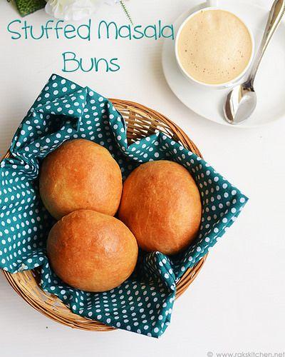 stuffed-masala-buns-recipe