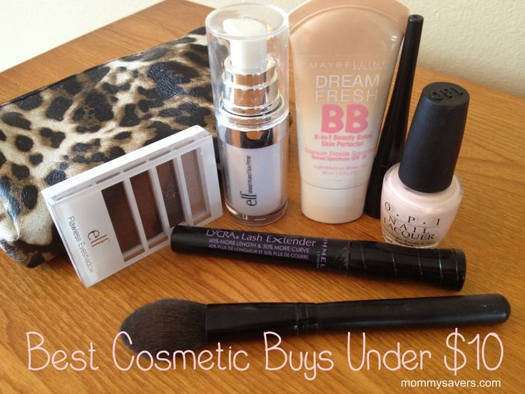 Best cosmetics under $10.  I don't wear every brand they found for such ridiculously cheap prices but many of them I have.  There is sure to be something for everyone here.  MUST SEE!!