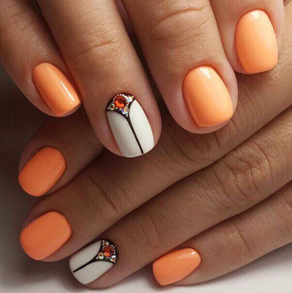 Best 25+ Short nail designs ideas on Pinterest